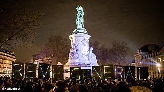 Франция: студенты против трудовой реформы
