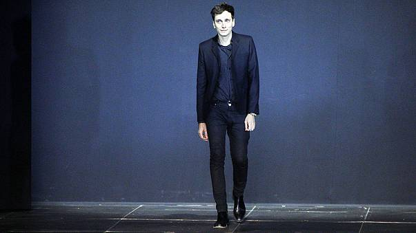 Designer Hedi Slimane quits fashion brand Yves Saint Laurent