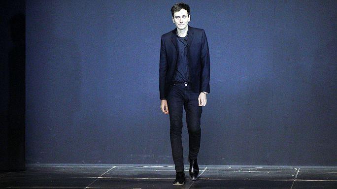 Designer Hedi Slimane quits fashion brand Yves Saint Laurent