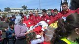Top Greek footballers help refugees in port city of Piraeus
