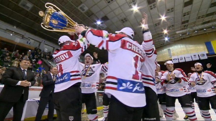 """""""Донбасс"""" стал чемпионом Украины по хоккею в четвертый раз"""