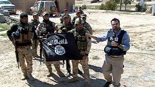 Las tropas iraquíes avanzan en la línea del frente contra el Dáesh