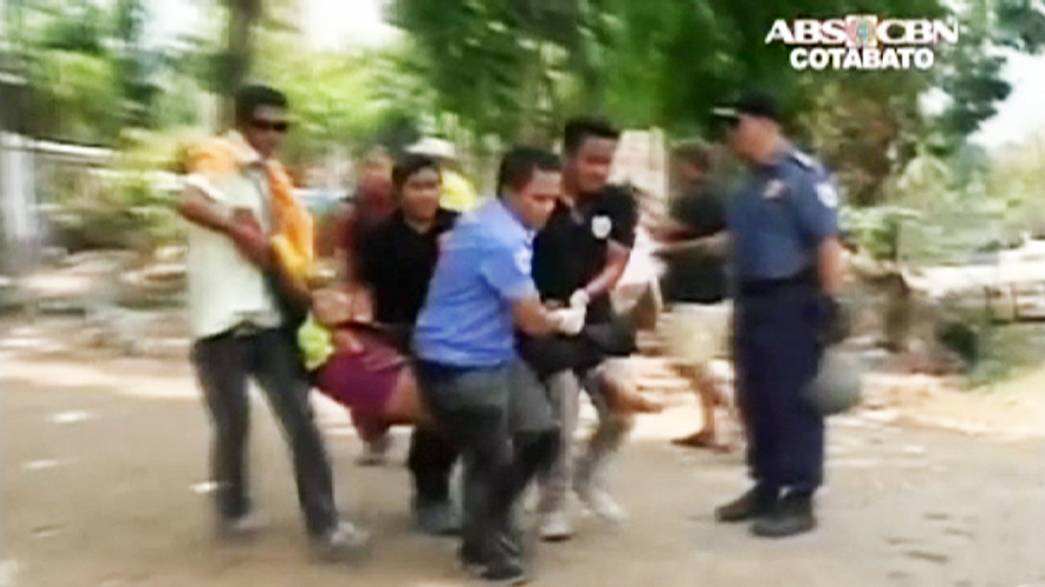 Drought-stricken Filipino farmers clash with police after crop failure