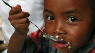 Malnutrition sévère dans le sud de Madagascar