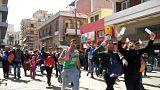 Des centaines de migrants en Grèce refusent de repartir en Turquie