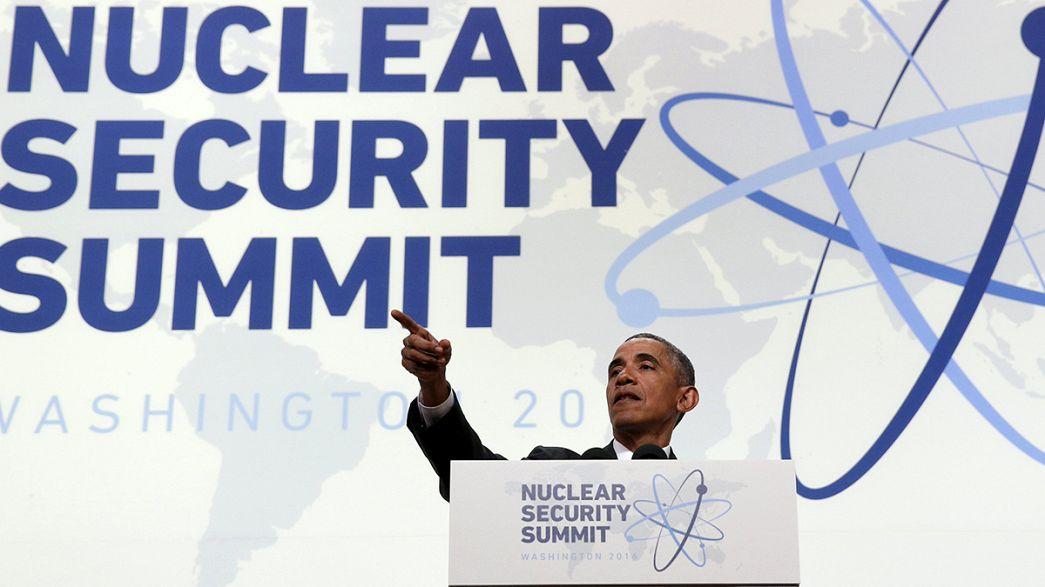 """La menace du """"terrorisme nucléaire"""" pour clore le sommet de Washington"""