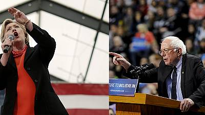Tensions rise between rival candidates in the US presidential race