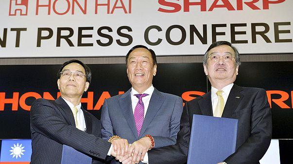 La compañía electrónica japonesa Sharp pasa a manos de la taiwanesa Hon Hai