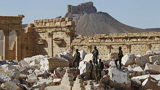 Syria: Army clears IS bombs, mines at Palmyra
