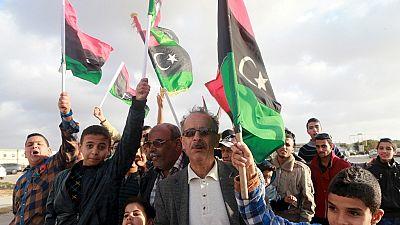 Manifestation à Tripoli en faveur du gouvernement d'union