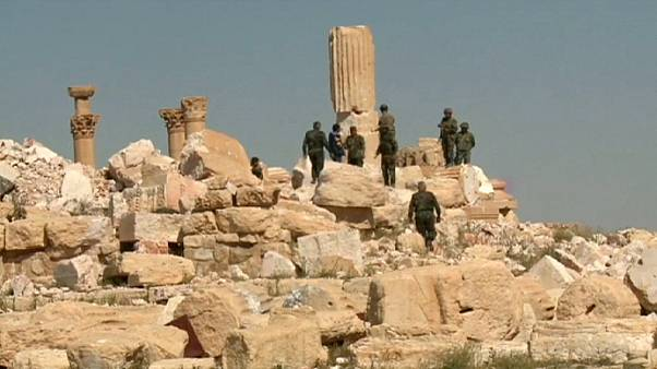 Mass grave discovered near recaptured Syrian town of Palmyra