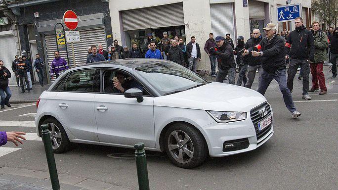 الشرطة البلجيكية تعتقل عددا من المحتجين في حي مولنبيك