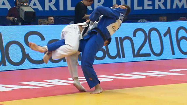 Judo Grand Prix: Dördüncü madalya Hasan Vanlıoğlu'ndan