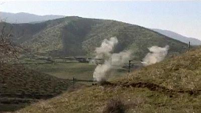 Preocupación en la comunidad internacional tras el latigazo bélico que dejó ayer decenas de muertos en Nagorno Karabaj