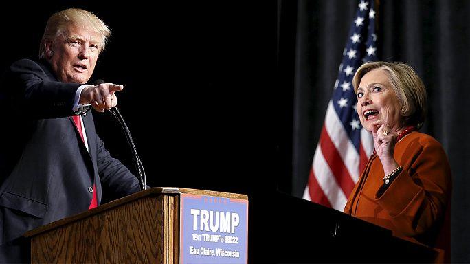 Trump most a NATO-nak ment neki, Clinton kontrázott