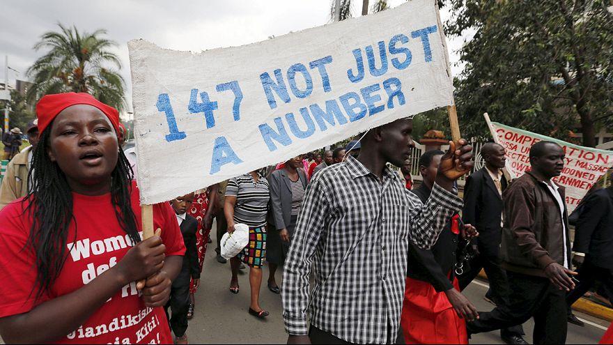 كينيا تحييى الذكرى الأولى لمجزرة جامعة غاريسيا