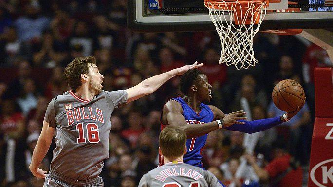 НБА: Детройт обыграл Чикаго