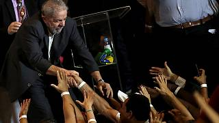 Lula attends pro-government protest in Northeastern Brazil