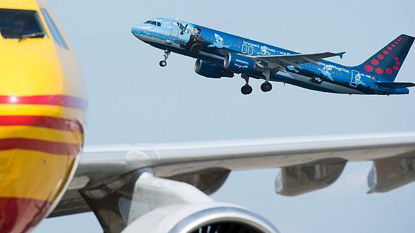 El aeropuerto de Bruselas reabre con el despegue de tres aviones de pasajeros