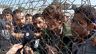 An uncertain future for thousands of migrants on Greece's Lesbos island