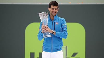 Novak Djokovic beats Kei Nishikori to clinch sixth Miami Open title