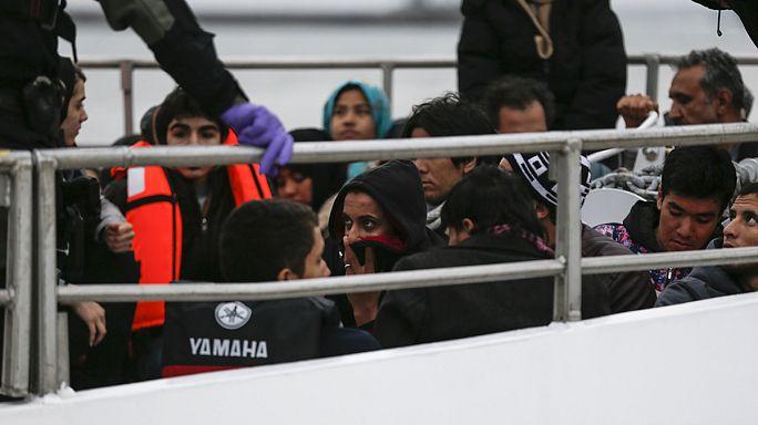 İlk sığınmacı kafilesi AB'den Türkiye'ye doğru yola çıktı