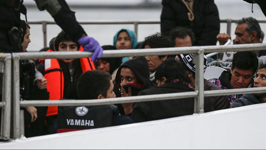 Erste Flüchtlinge von Griechenland in die Türkei abgeschoben