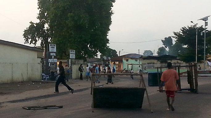 Tirs nourris à Brazzaville
