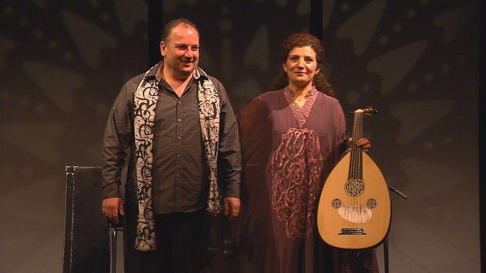 Szíriai muzsikusok a békéért