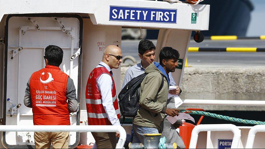 Sığınmacılar Türkiye'ye ulaştı