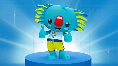 Blue koala Borobi revealed as official mascot for 2018 Commonwealth Games