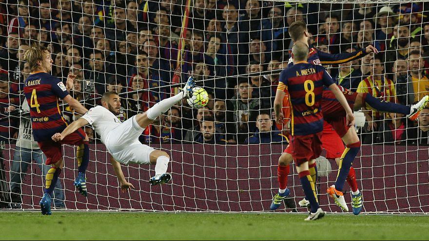 El Real Madrid gana en el Camp Nou y el Leicester sigue imbatible