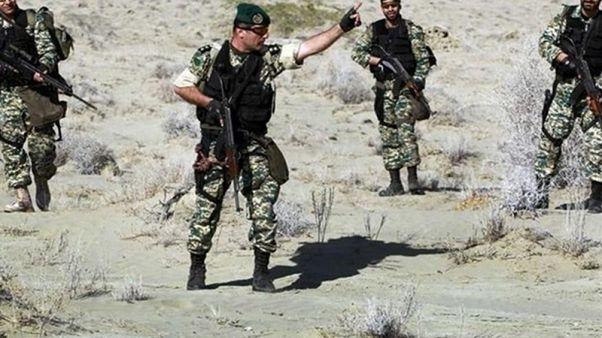 استقرار تکاوران نیروی زمینی ارتش ایران در سوریه