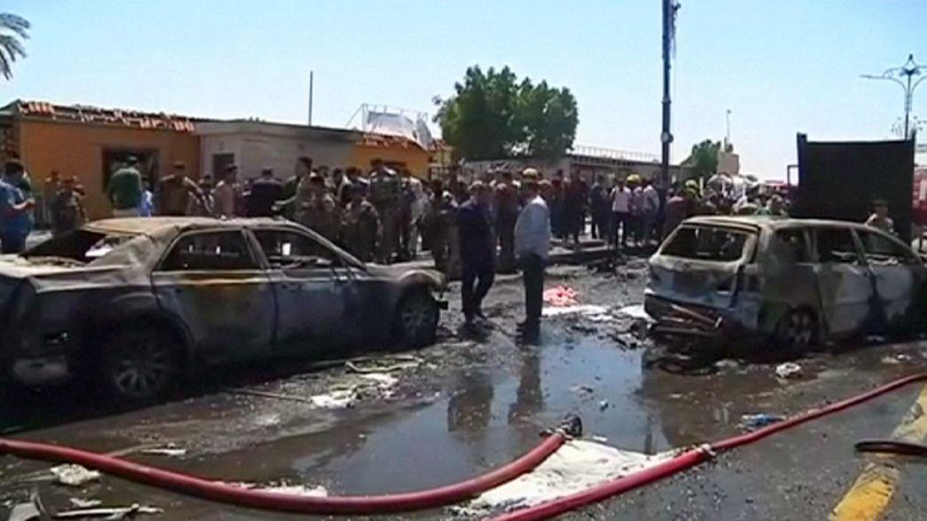 Vague d'attentats suicides en Irak