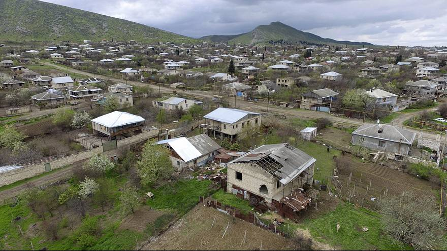 Calls for calm after third day of fighting in Nagorno-Karabakh