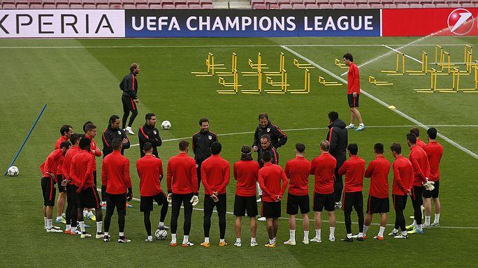 Испанское дерби и еще три четвертьфинала Лиги чемпионов
