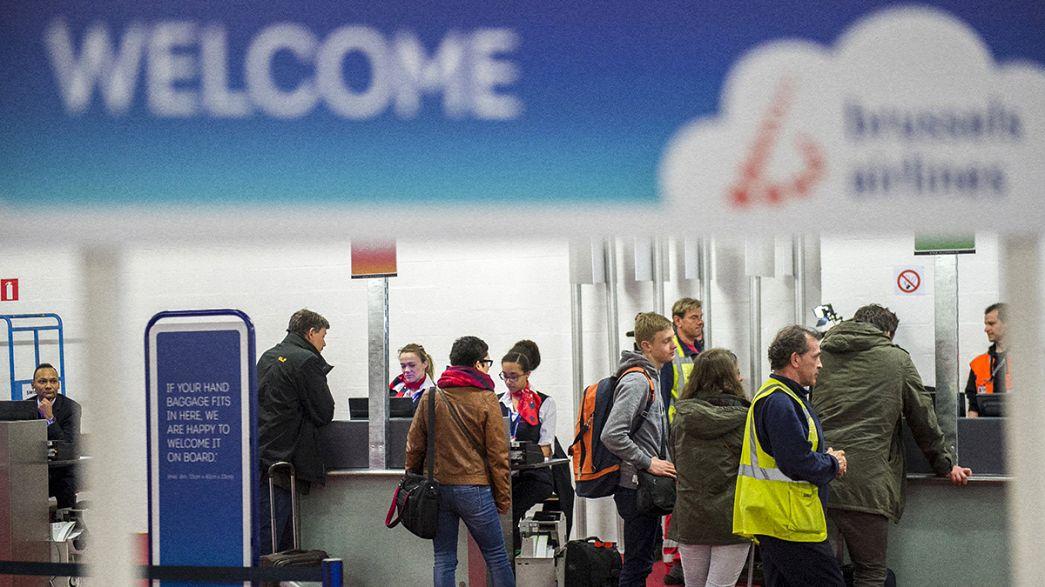 Brüssel: Flughafenbetrieb nimmt nach Wiedereröffnung zu