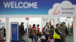 Saldırıya uğrayan Zaventem Havaalanı'na güvenlik noktası konuldu