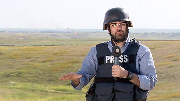 Operation zur Befreiung Mossuls beginnt - Euronews Reporter vor Ort