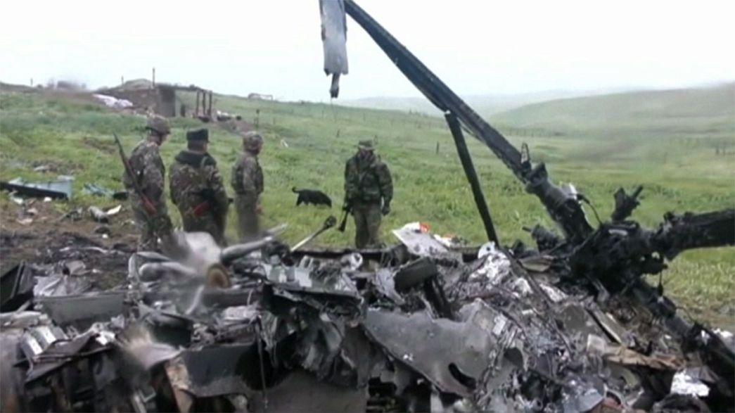 La autoproclamada república de Nagorno Karabaj y Azerbaiyán anuncian un alto el fuego