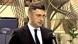 """Andrej Plenković sobre consulta popular na Holanda: """"Referendo pode transmitir um sinal"""""""