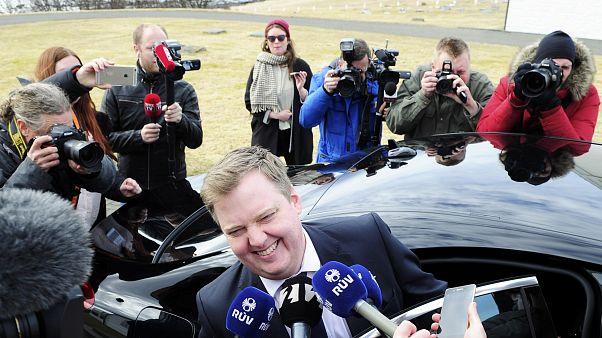 """Acosado por los """"papeles de Panamá"""", el primer ministro islandés pide la disolución del Parlamento"""