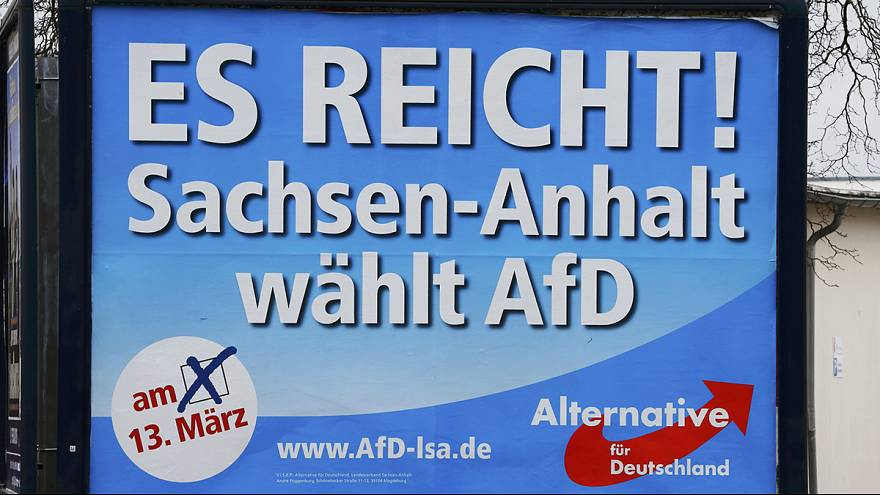 AfD-Hashtag verwundert: #IchWaehleAfD