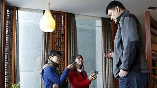 نام اسطوره ۲۲۹ سانتی متری چین در بین مشاهیر بسکتبال