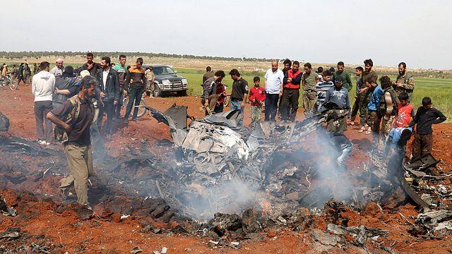 Над Алеппо сбит сирийский истребитель