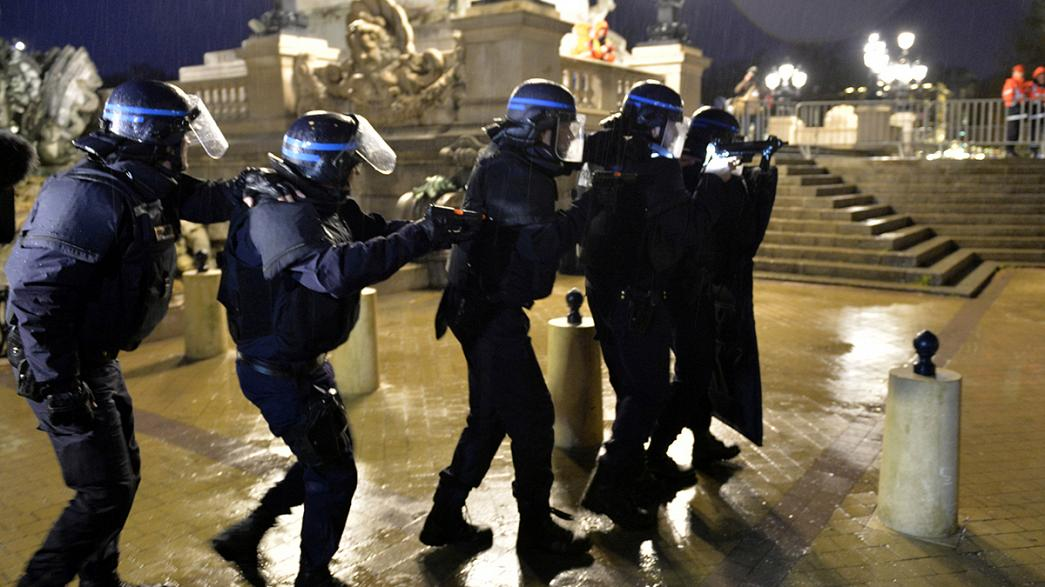 Fransa'da Euro 2016 öncesi güvenlik tatbikatı