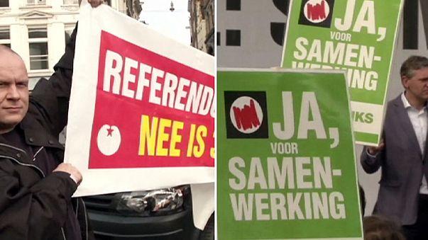 Hollandalılar Ukrayna ile yapılan ortaklık anlaşmasını oylamak için sandığa gidiyor