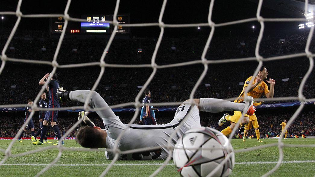 Champions-League-Viertelfinale: Bayern und Barca legen mit Heimsiegen vor
