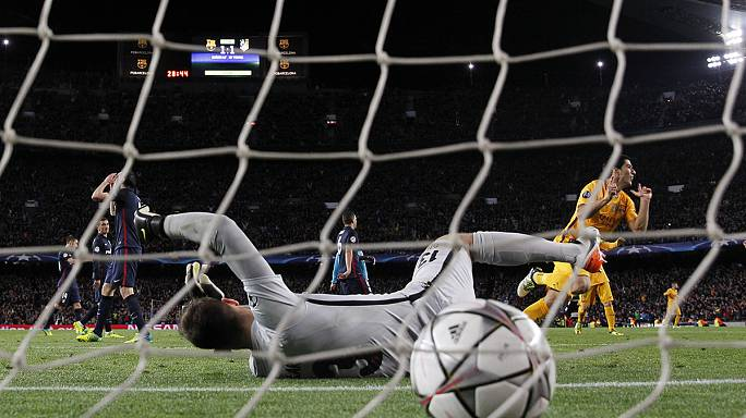 Barcelona and Bayern Munich edge their Champions League ties