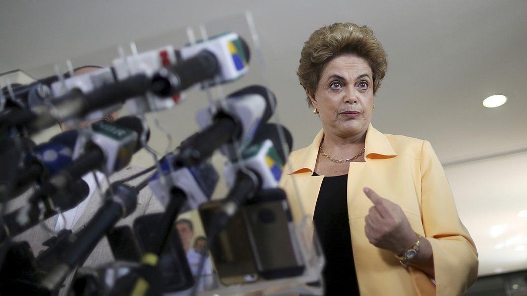 """Brasil: Rousseff exclui reforma ministerial antes de voto de """"impeachment"""""""